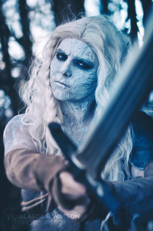 My White Walker Daenerys Targaryen Mashup Cosplay