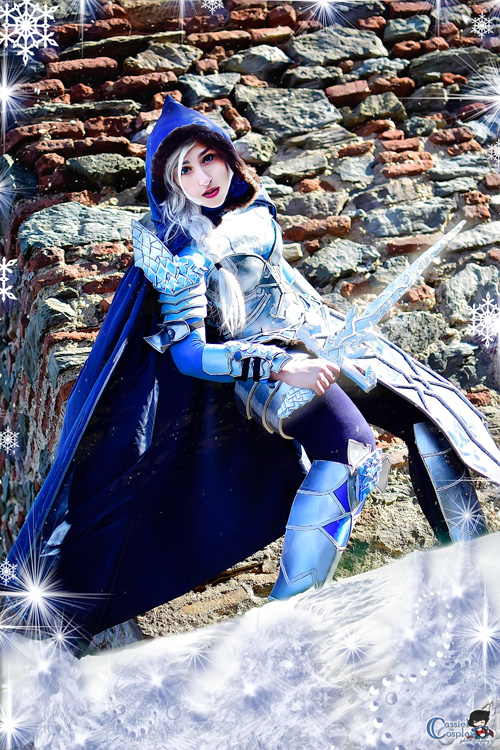 Battle Armour Elsa Cosplay