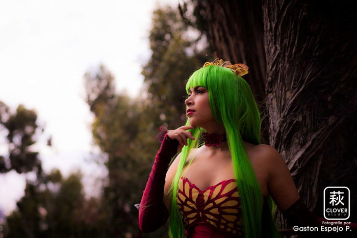 C.C. from Code Geass Cosplay