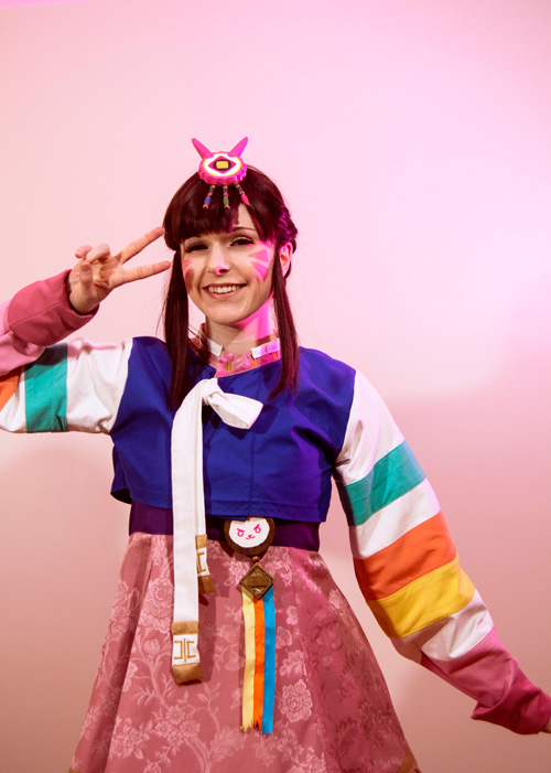 D.Va Chinese New Year Skin Cosplay