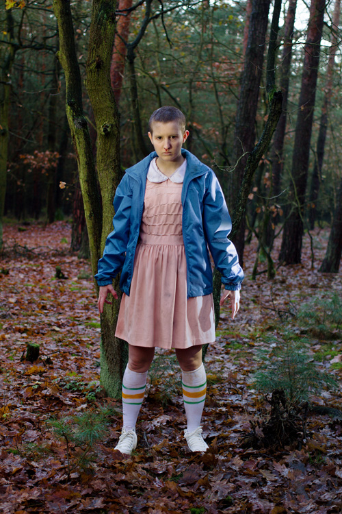 Eleven from Stranger Things Cosplay