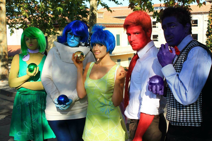 Inside Out Group Cosplay