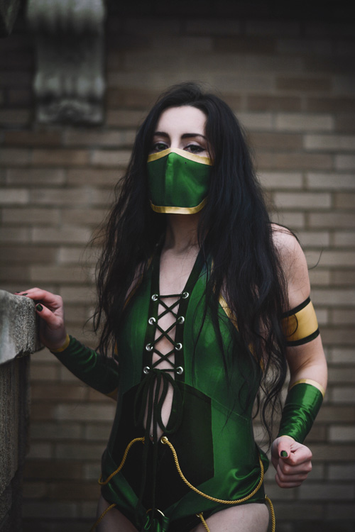 Jade from Mortal Kombat Cosplay