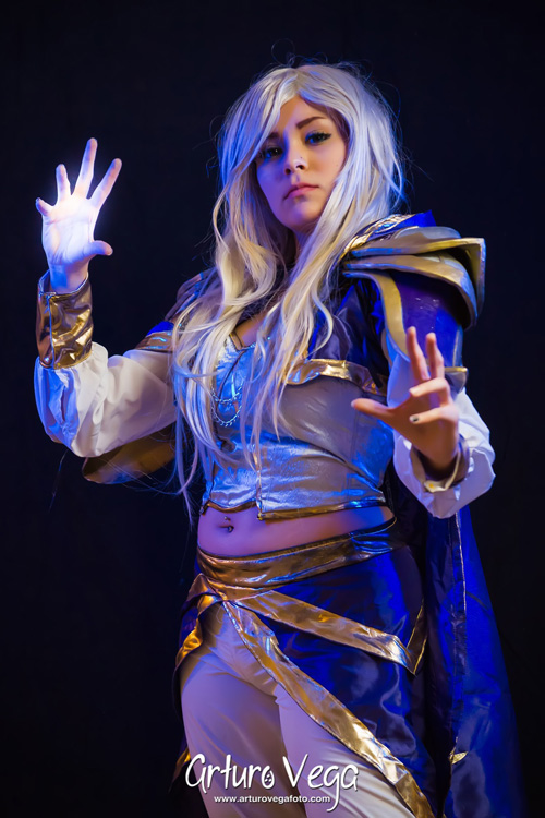 jaina proudmoore from hearthstone heroes of warcraft cosplay
