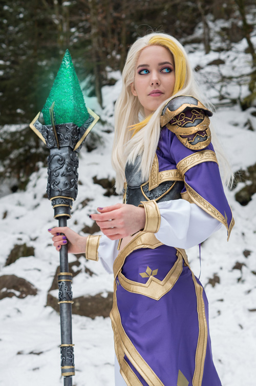 Jaina Proudmoore from World of Warcraft Cosplay