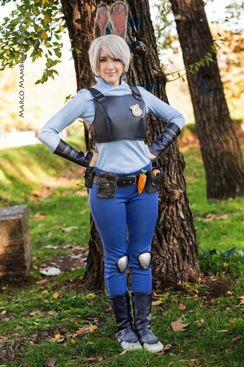 Judy Hopps from Zootopia Cosplay