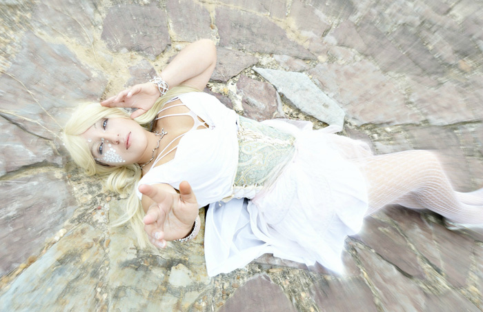 Lolita Emma Frost Cosplay