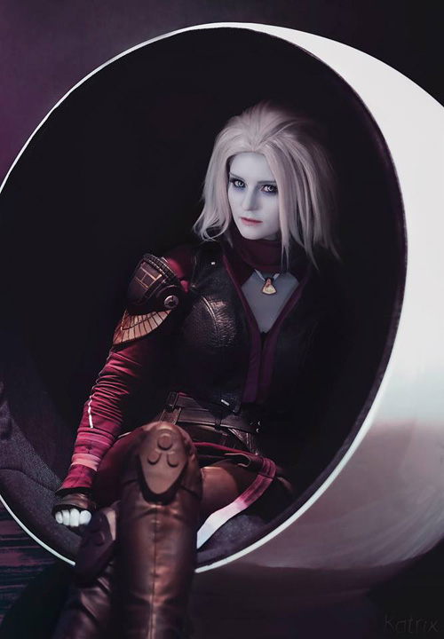 Mara Sov from Destiny Cosplay