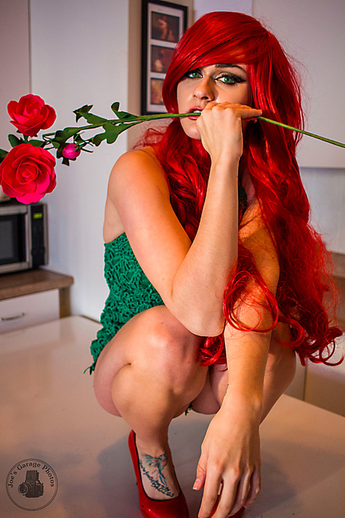 Casual Poison Ivy Cosplay