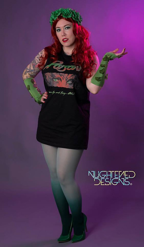 Poison Ivy Pinup Cosplay