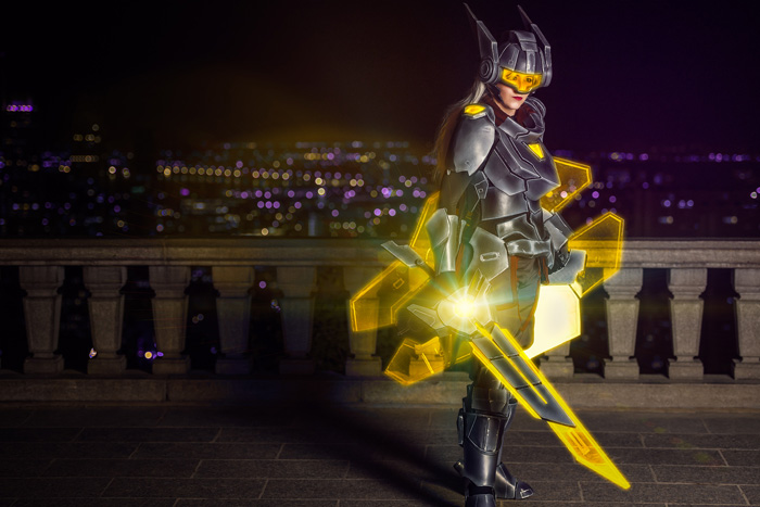 Project Leona from League of Legends Cosplay