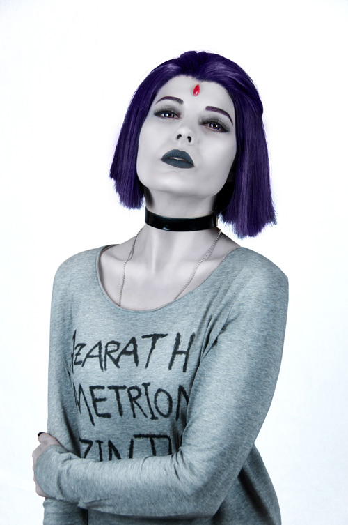 Casual Raven from Teen Titans Cosplay