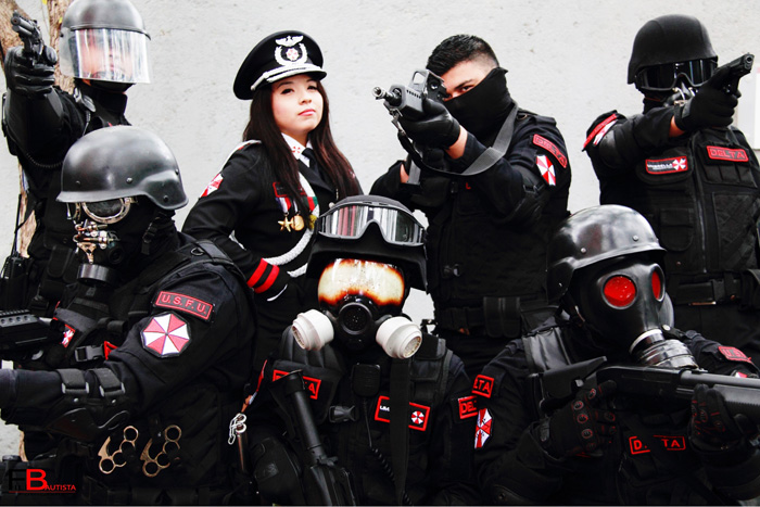 Umbrella Corporation General from Resident Evil Cosplay