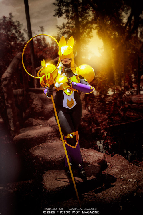 Sakuyamon from Digimon Tamers Cosplay