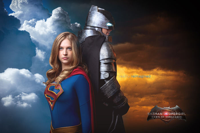 Batman v Supergirl Cosplay
