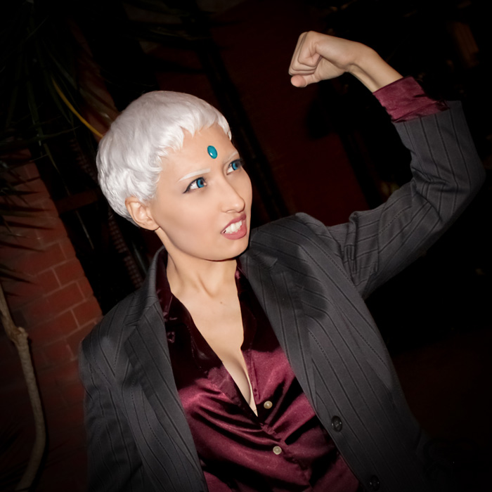 Genderbend Urien from Street Fighter Cosplay