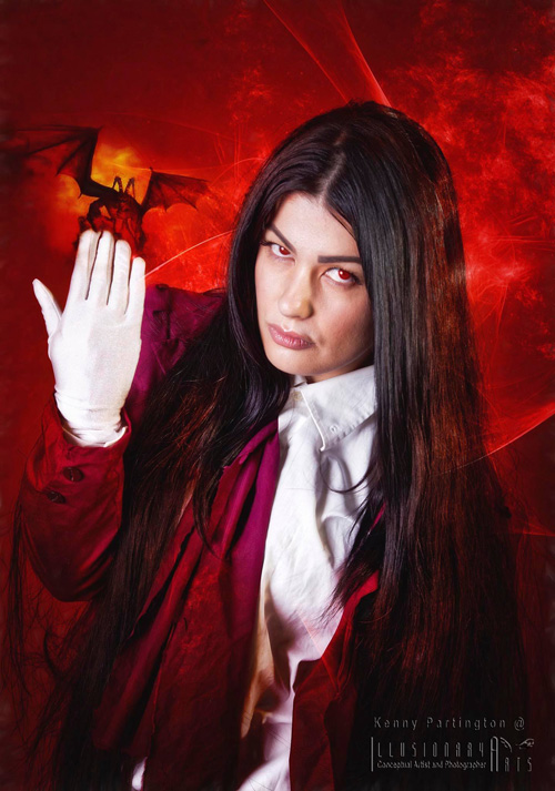 Genderbent Alucard from Hellsing Cosplay