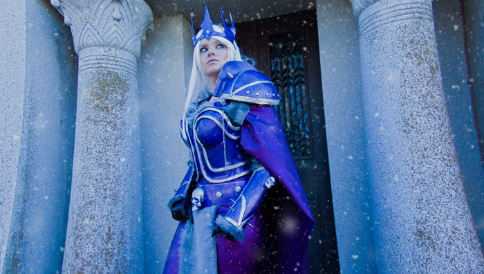 Arthas from Warcraft Cosplay