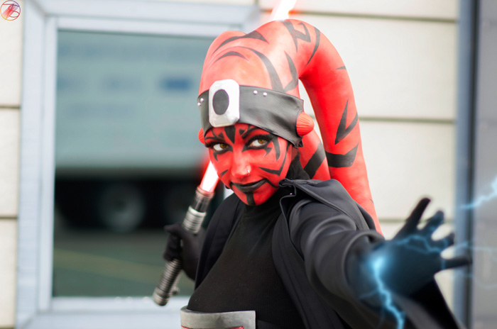 Darth Atroxa from the Star Wars: The Old Republic Cosplay