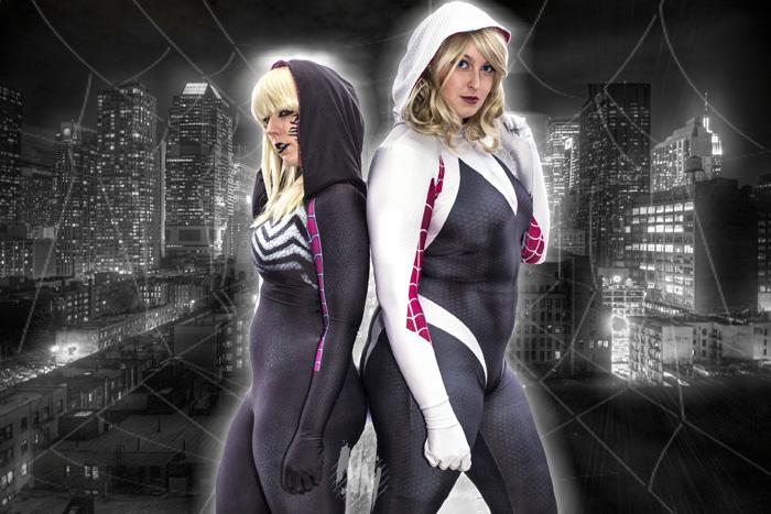 Gwenom & Spider-Gwen Cosplay