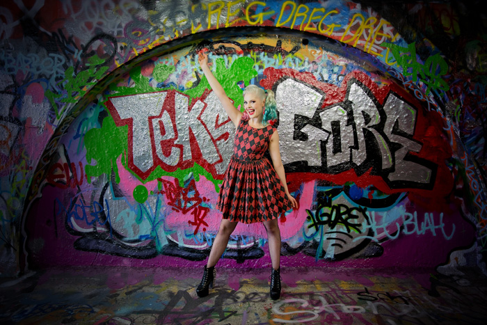 Rockabilly Harley Quinn Photoshoot