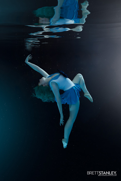 Sailor Uranus & Neptune Underwater Cosplay