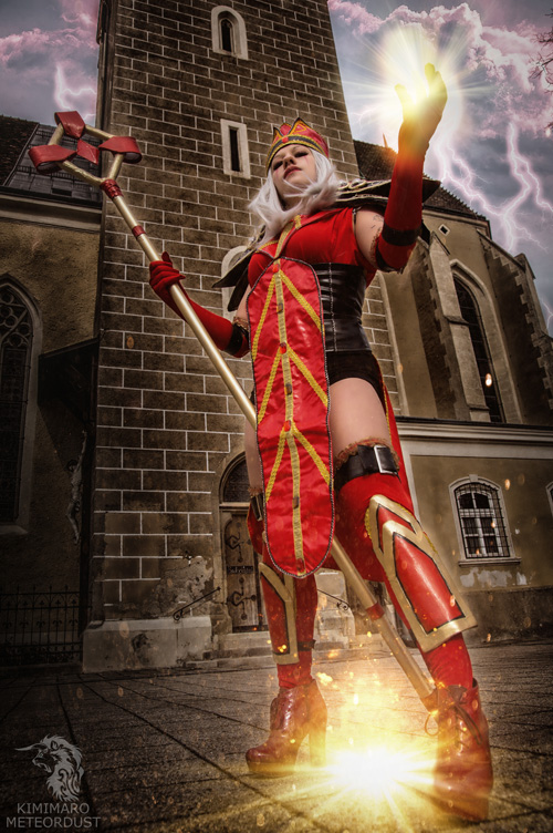 Sally Whitemane from World of Warcraft Cosplay