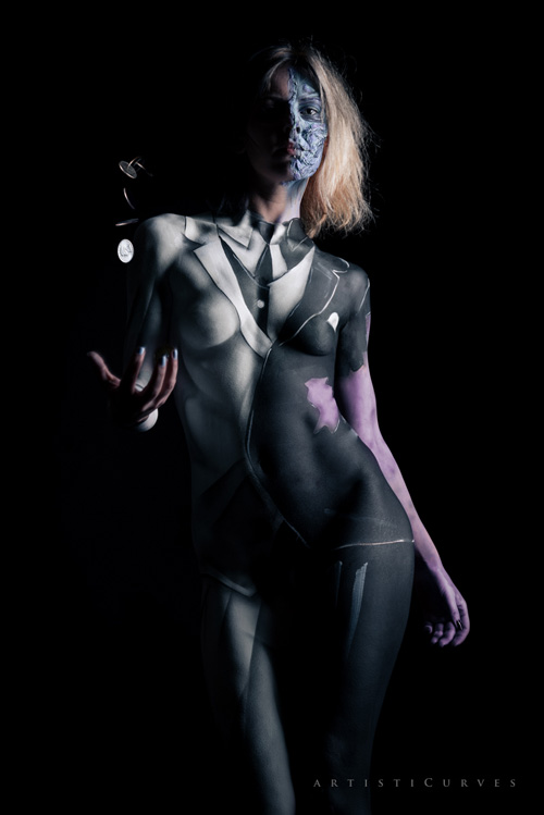 Two Face Body Paint