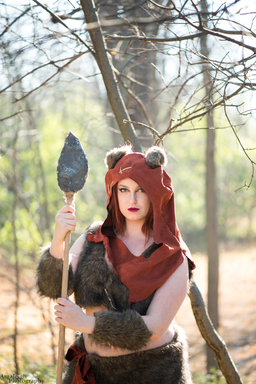 Wicket the Ewok from Star Wars Cosplay