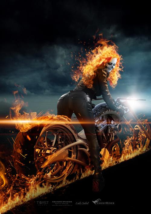 Ghost Rider Genderbend Cosplay