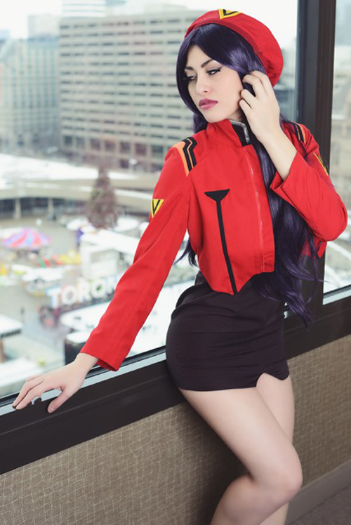 Misato from Evangelion Cosplay