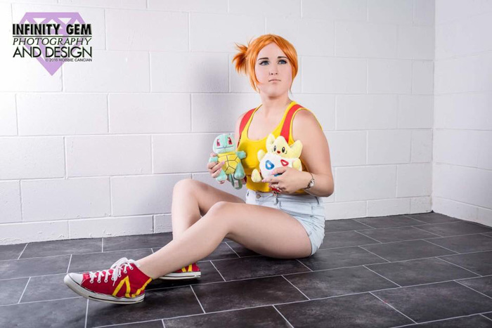 Misty from Pokemon Cosplay