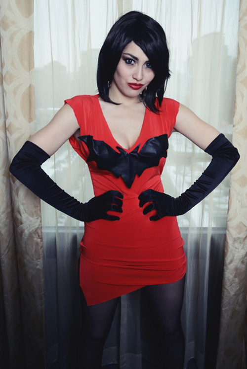 Vampirella New Costume Cosplay