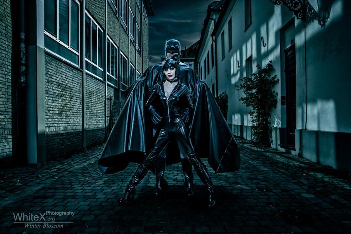 Batman & Catwoman Cosplay