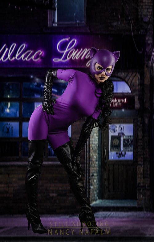 Classic Catwoman Cosplay