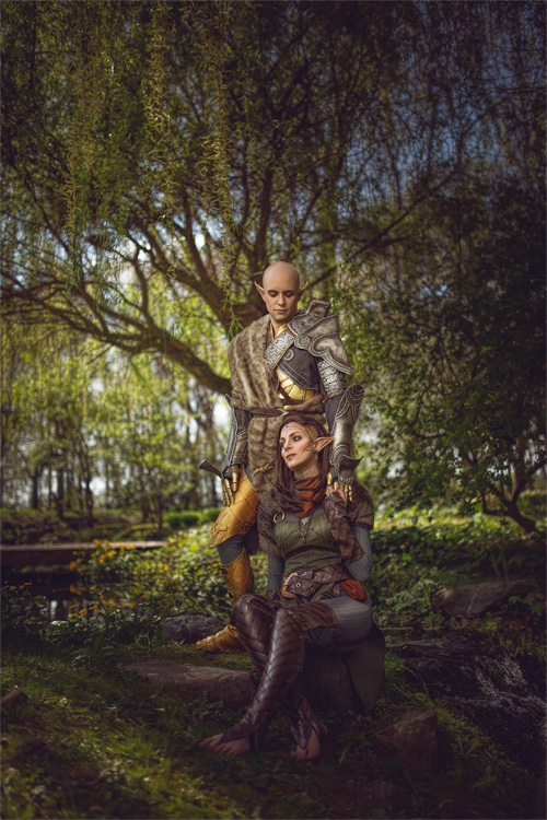 Solas & Lavellan from Dragon Age: Inquisition Cosplay
