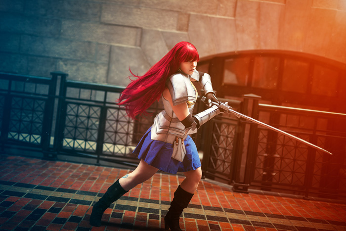 Erza Scarlet from Fairy Tail Cosplay