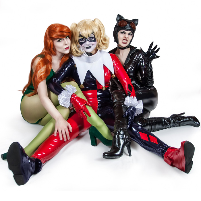 Gotham city sirens cosplay