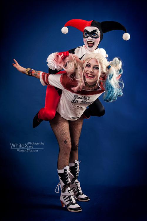 Harley vs Harley Cosplay