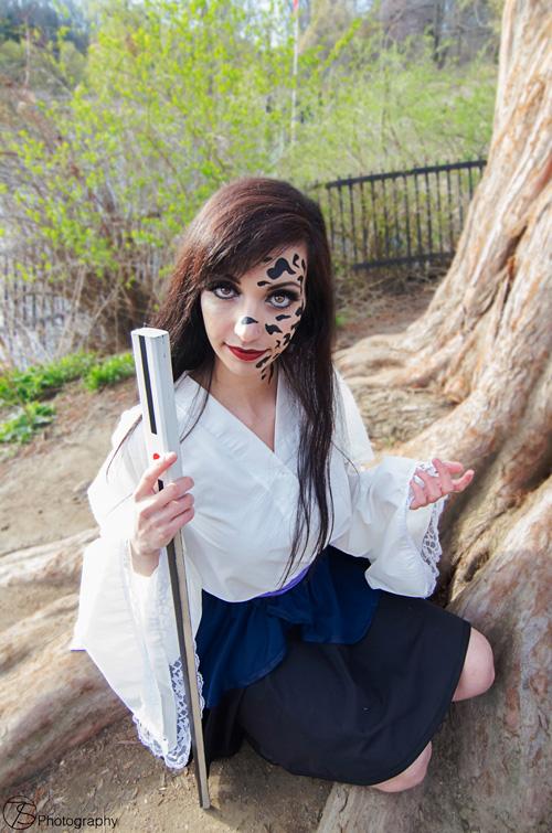 Kimono Sasuke from Naruto Shippuden Cosplay