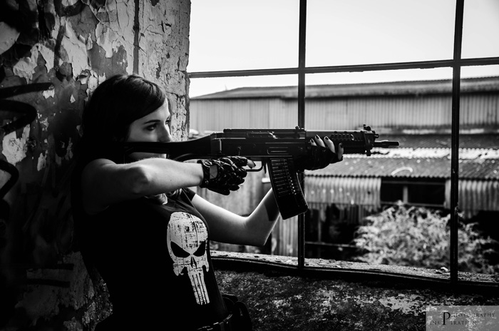 Lady Punisher Cosplay