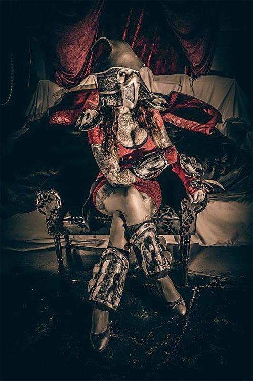 Lady Shredder Cosplay