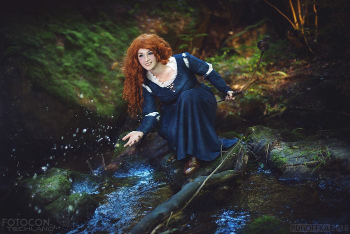 Merida from Brave Cosplay