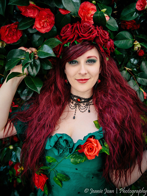 Vintage Poison Ivy Cosplay