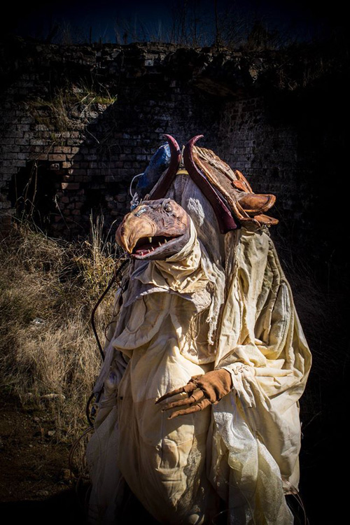 Skeksi from The Dark Crystal Cosplay