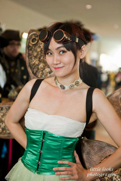 Steampunk Tinkerbell Cosplay