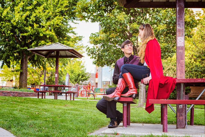 Geek Engagament Photoshoot
