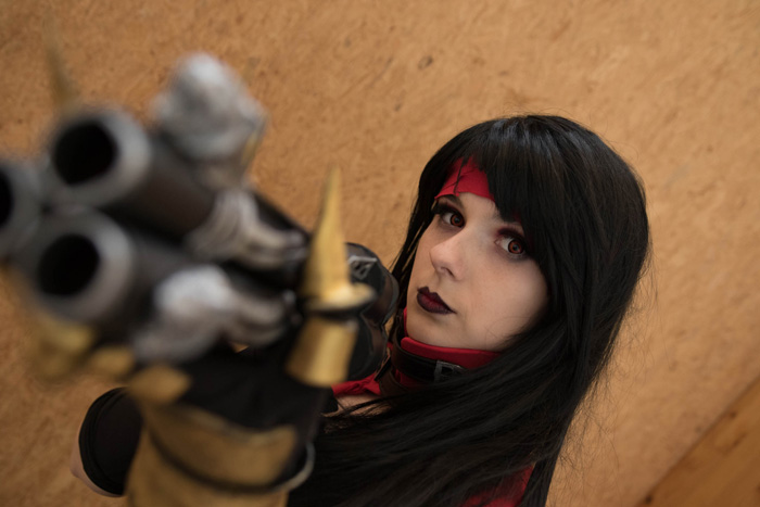 Vincent Valentine Genderbend Cosplay from Final Fantasy VII