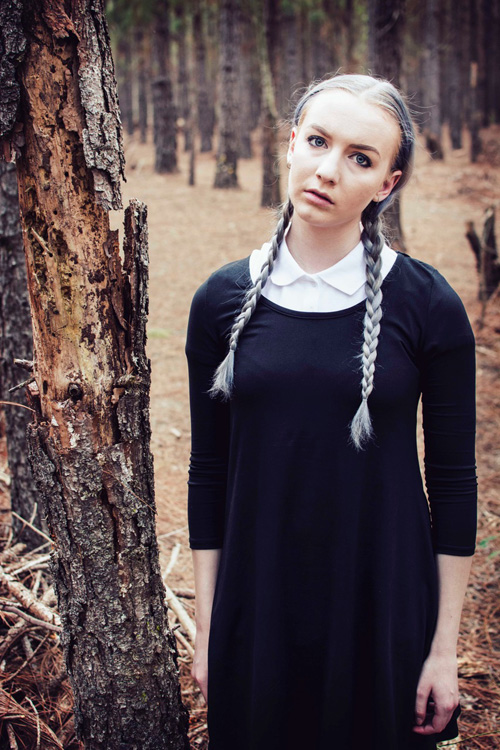 Wednesday Addams Cosplay