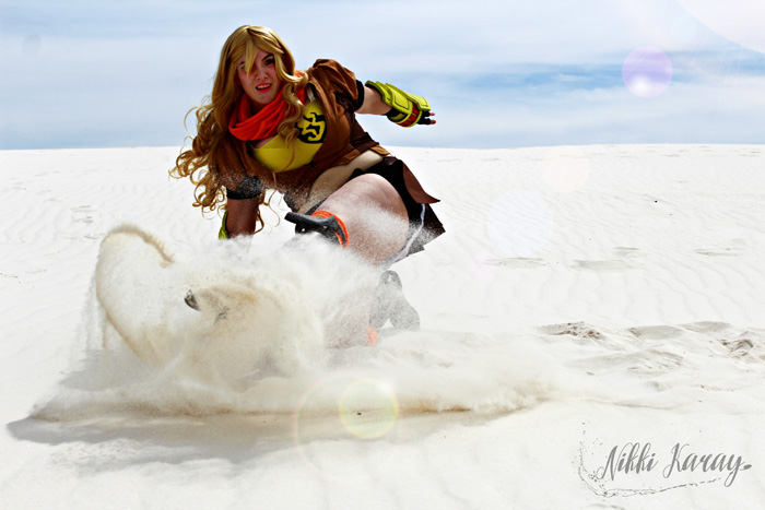Yang from RWBY Cosplay